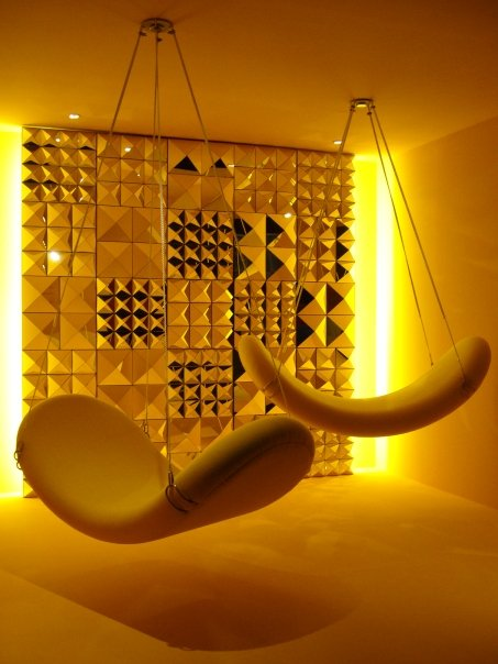 The travelling exhibition of Vernon Panton's work at the National Museum of Singapore.