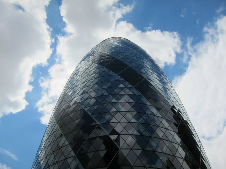 30 St Mary's Axe, London - also known as The Gherkin