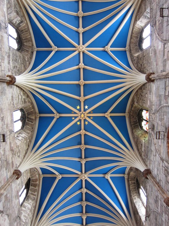 The vault of St Giles's Kirk, Edinburgh