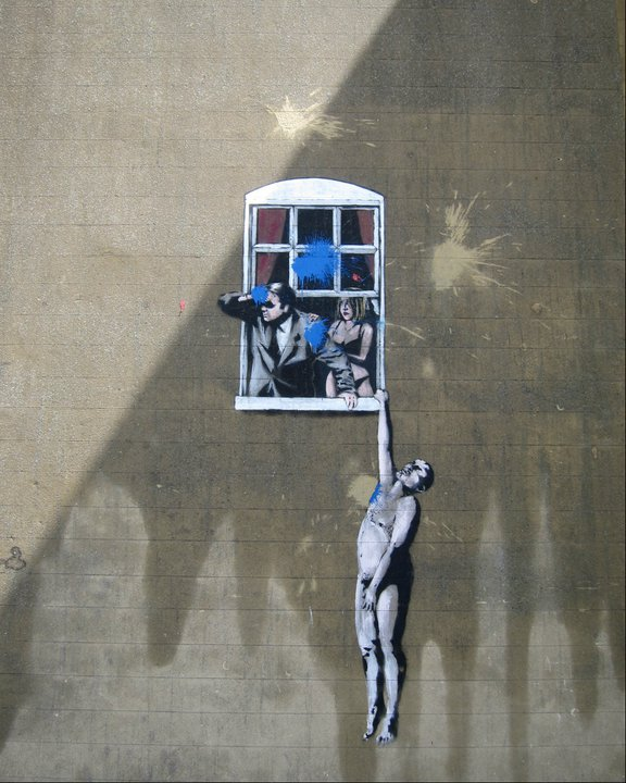 Banksy's Love Triangle