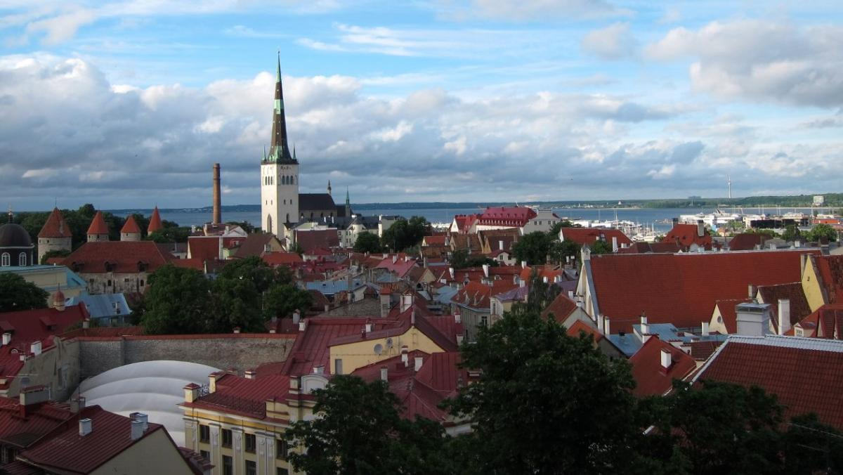 The view of Vana Linn from Toompea