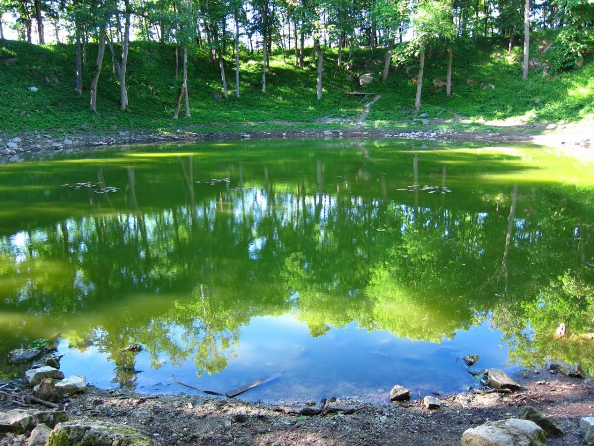 Cycling to the Meteorite Craters of Saaremaa
