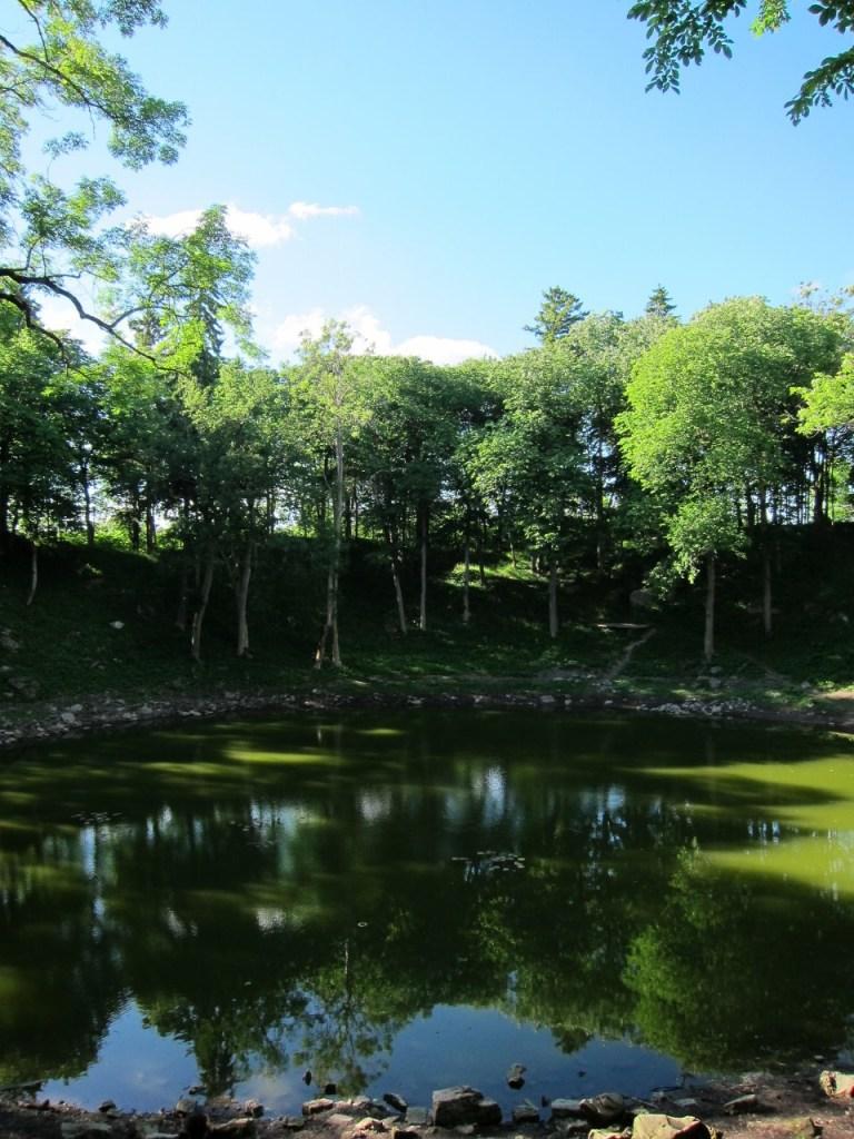 crater lake of Kaali