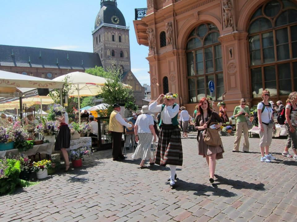 Midsummer Market in Riga