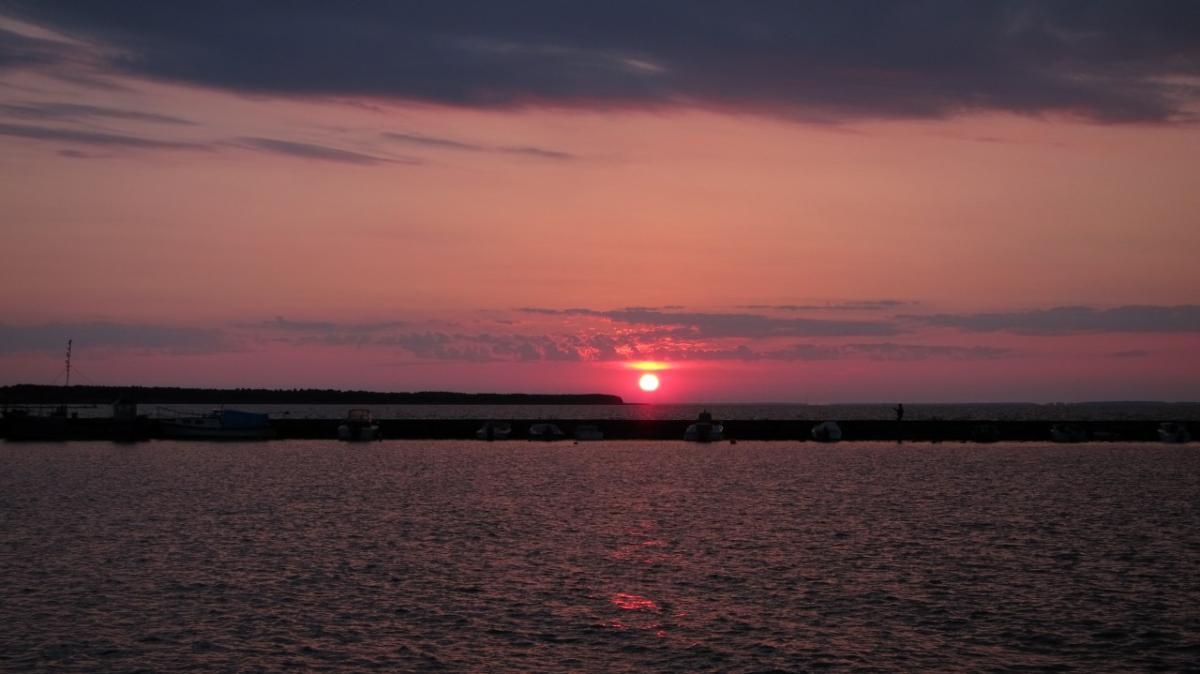 Sunrise over Nida
