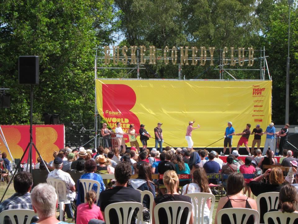 Buskers festival Christchurch