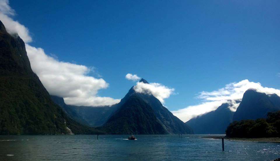 The Best Place to be in Milford Sound isn't on a Boat