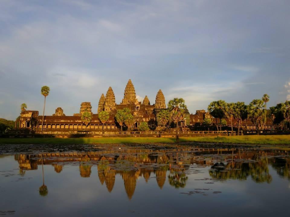 Angkor Through an Art Student's Eyes