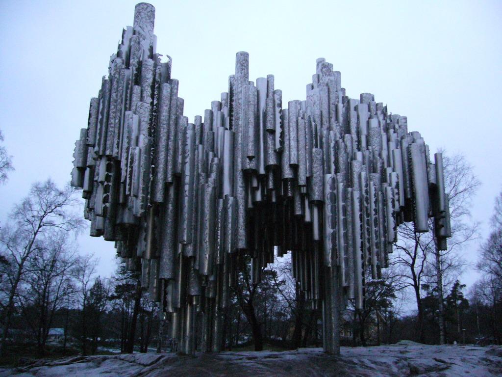 Sbelius monument, Helsinki