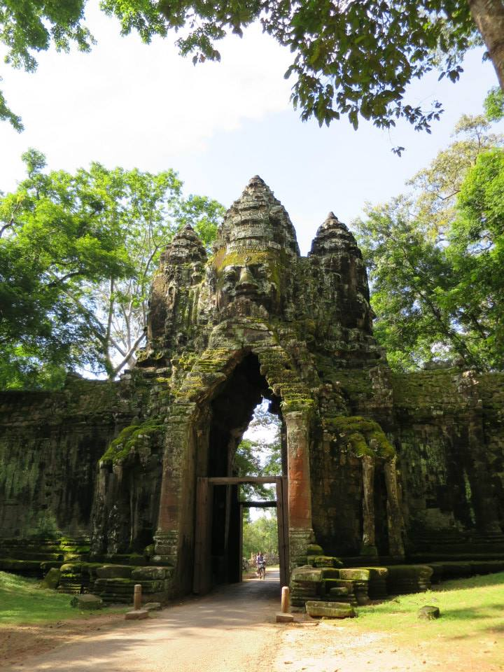 The North Gate of Angkor Thom