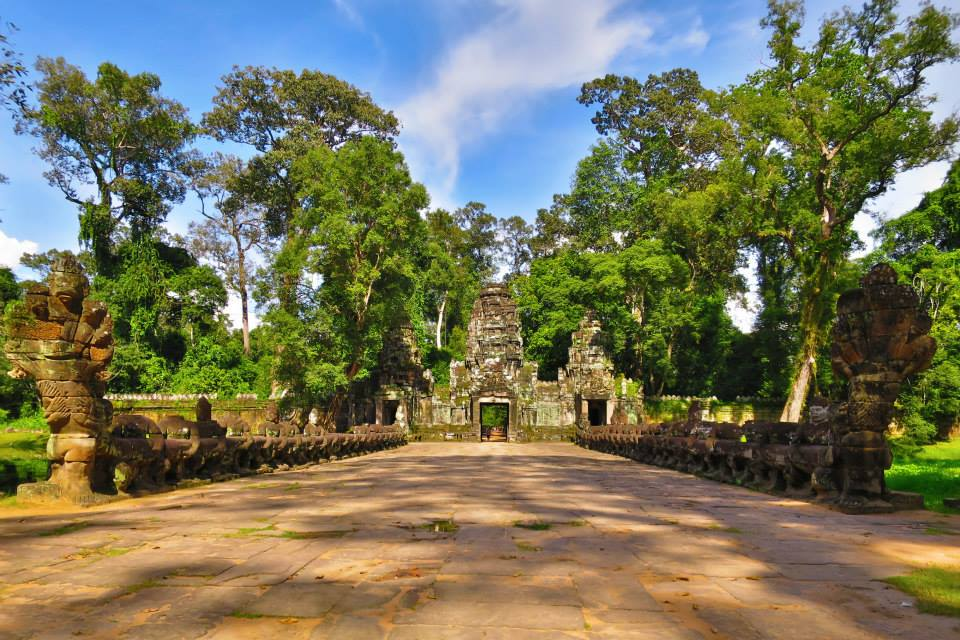 Preah Khan from the west