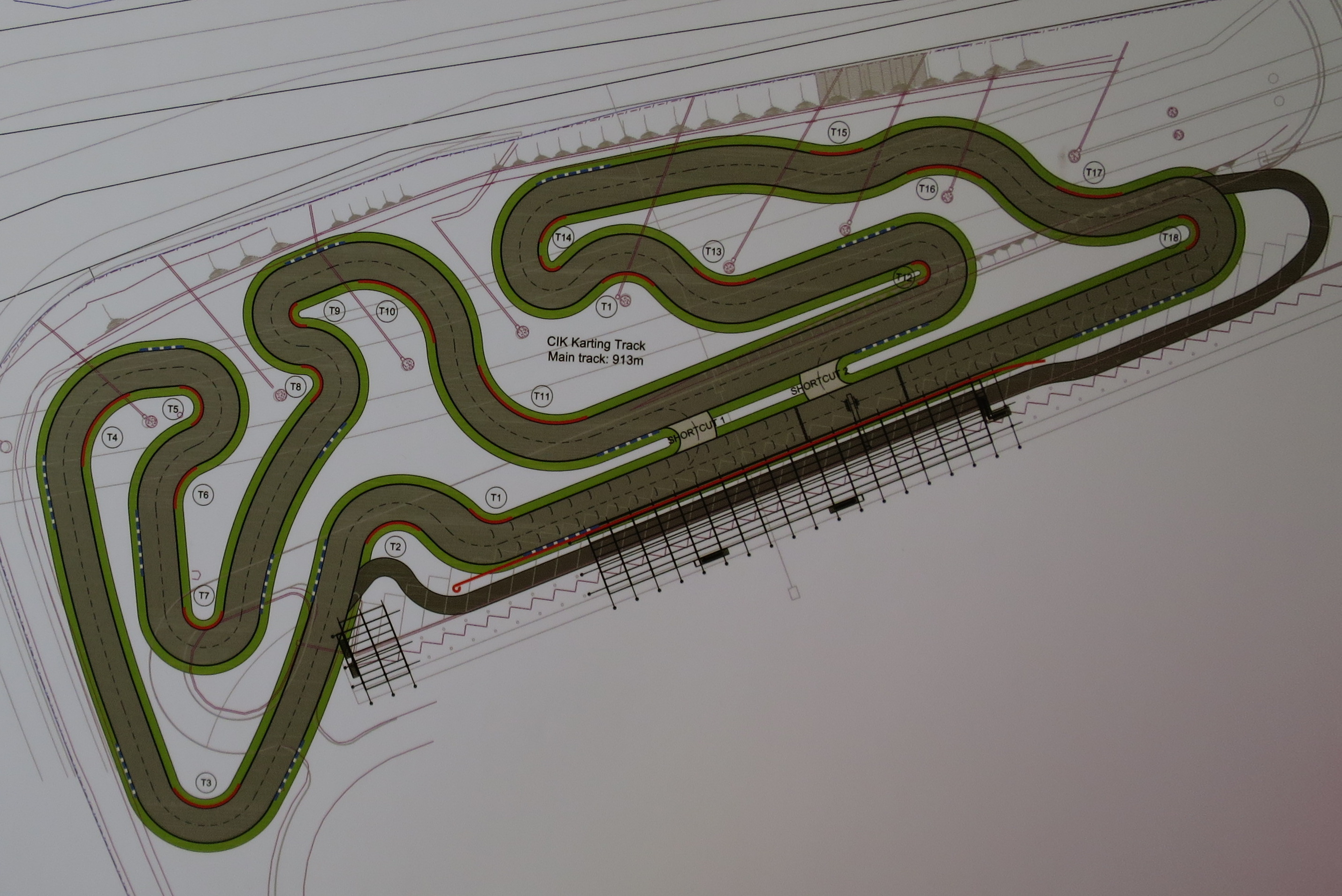 KF1 track layout