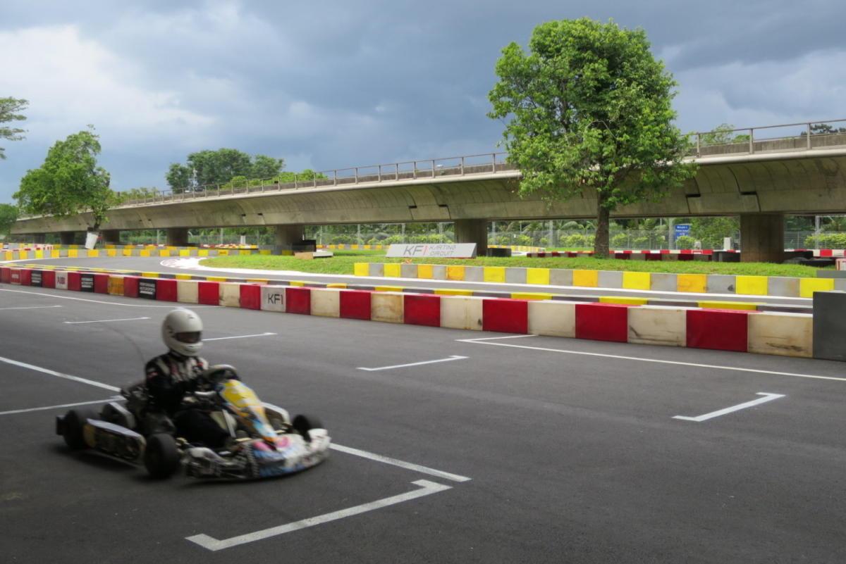 The KF1 Karting Circuit: A Walkthrough
