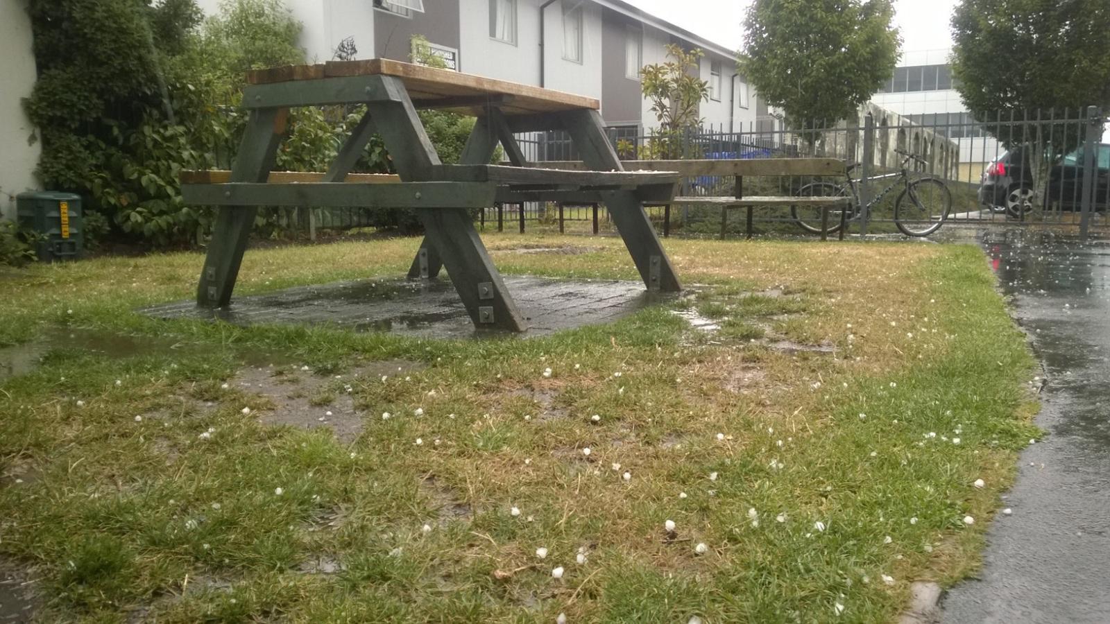 Christchurch hail