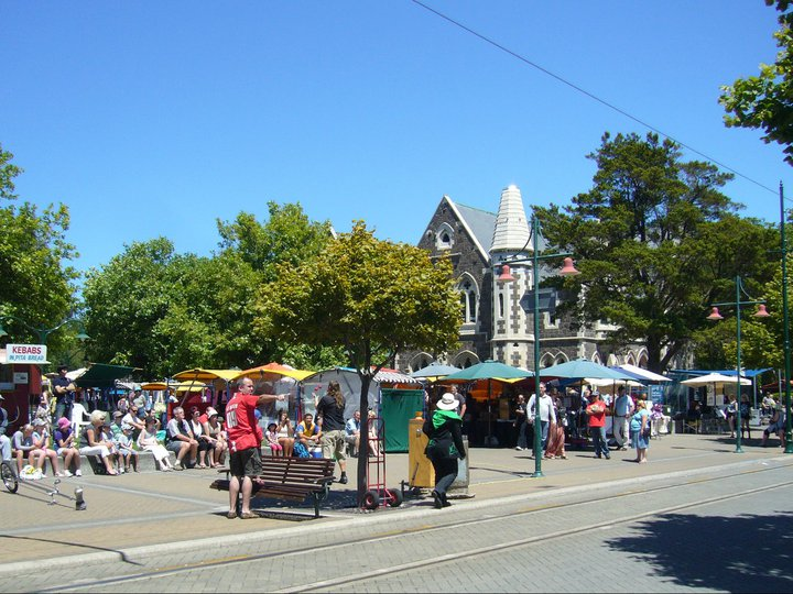 Memories of the Old Christchurch
