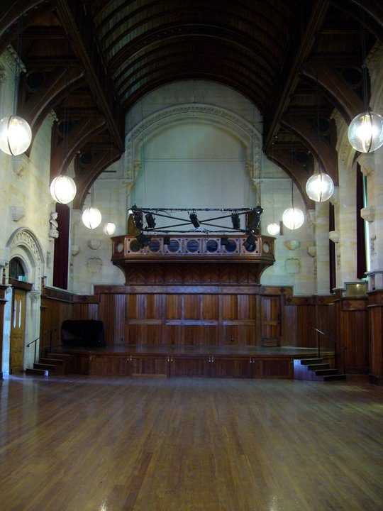 The Great Hall at the Arts Centre