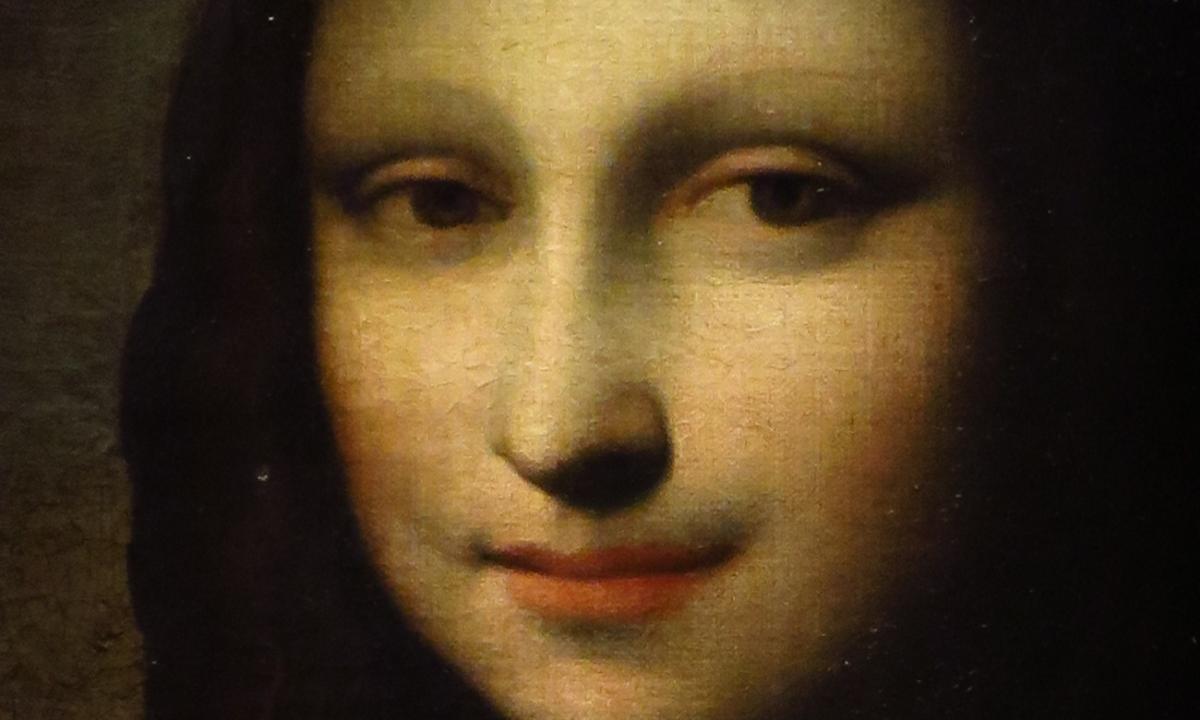 Impressions Of Leonardo Da Vincis Earlier Mona Lisa