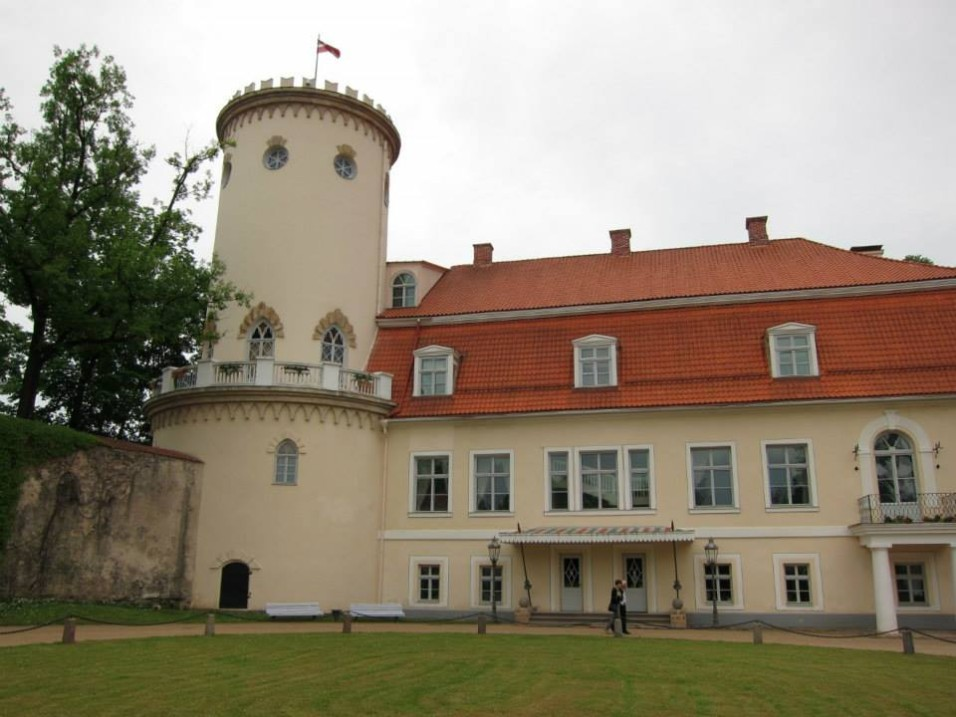 Cēsis new castle