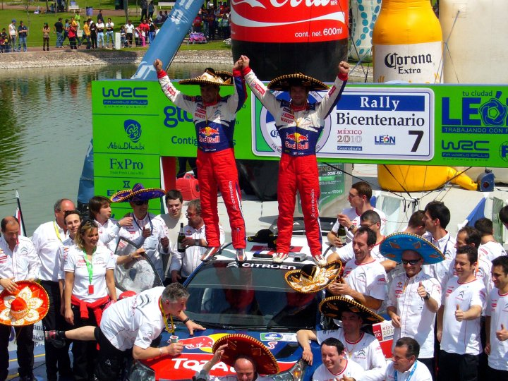 Sebastien Loeb Rally Mexico
