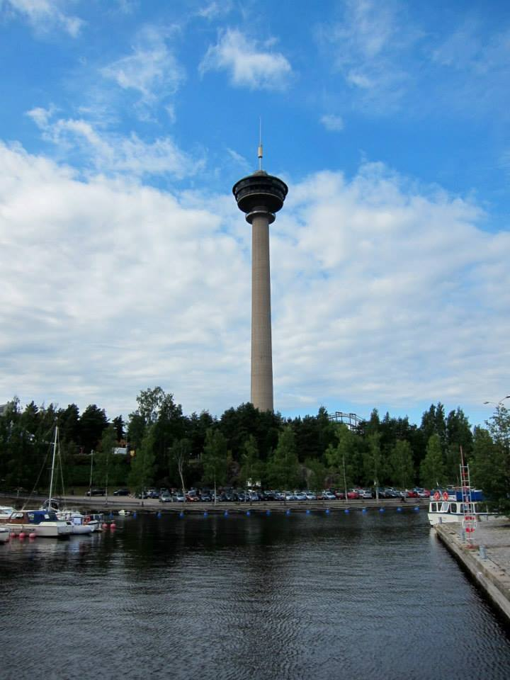 Näsinneula observation tower at Särkänniemi