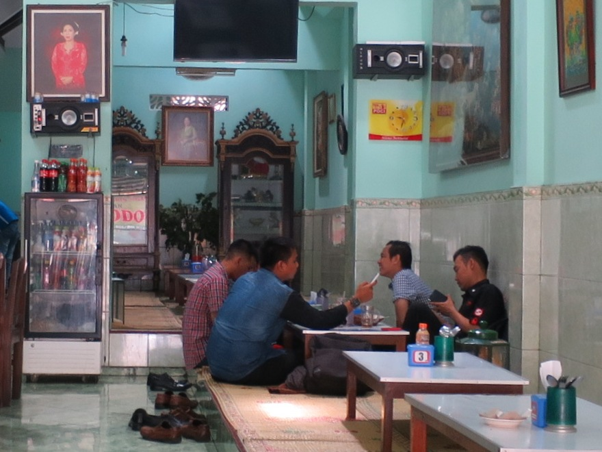 What to Expect in a Lesehan in Yogyakarta
