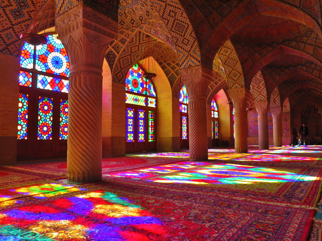 Nasir ol-Molk Mosque: A Light Show of a Different Kind