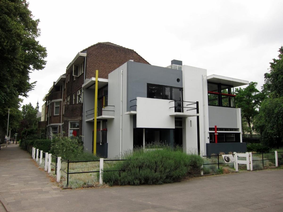 A Tour of the World's Only De Stijl House