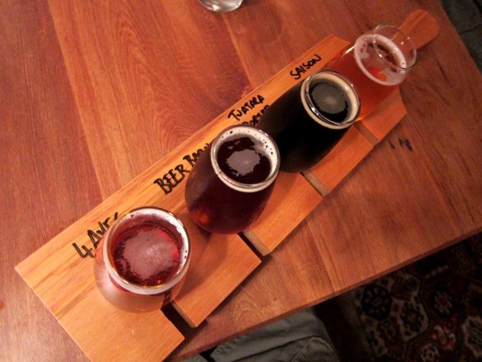 Pomeroy's sampler   NZ craft beer