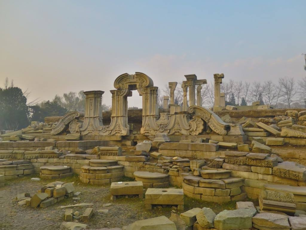 The Haunting Ruins of Beijing's Old Summer Palace