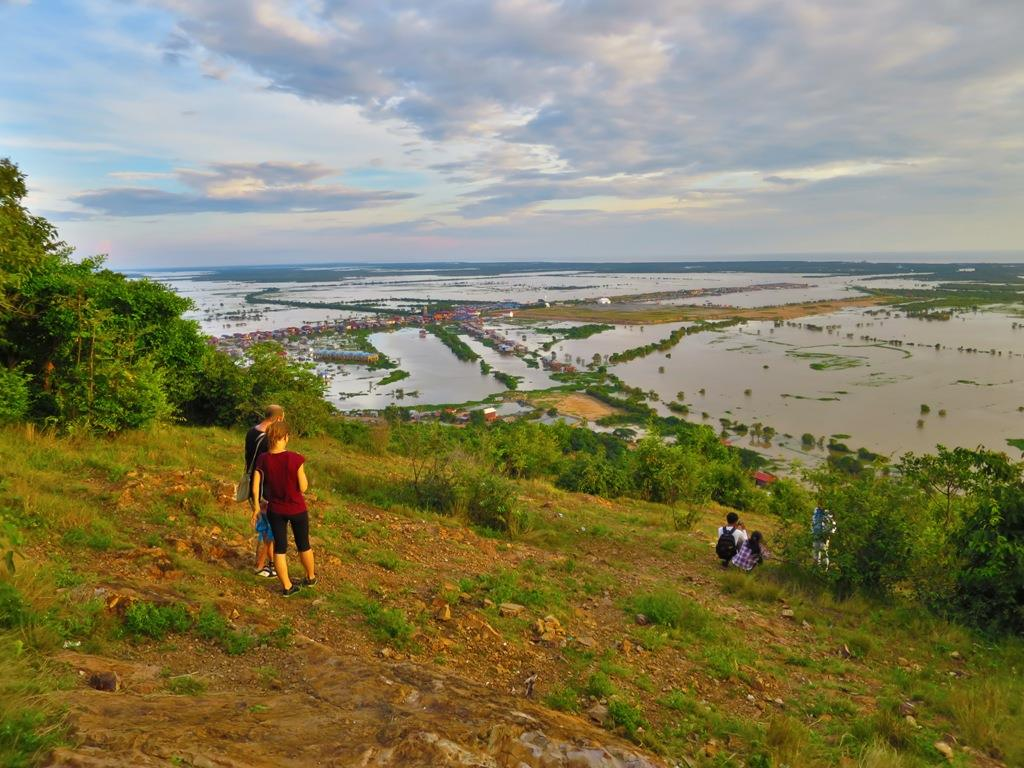 A Quiet Sunset Over Phnom Krom