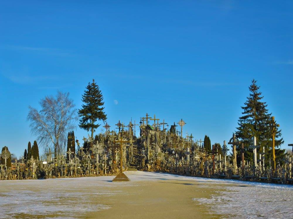 Getting to Hill of Crosses