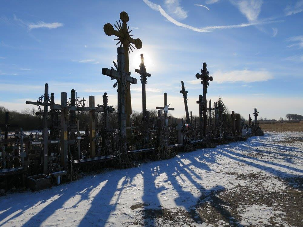 The Hill of Crosses: Getting There the Cheapest Way