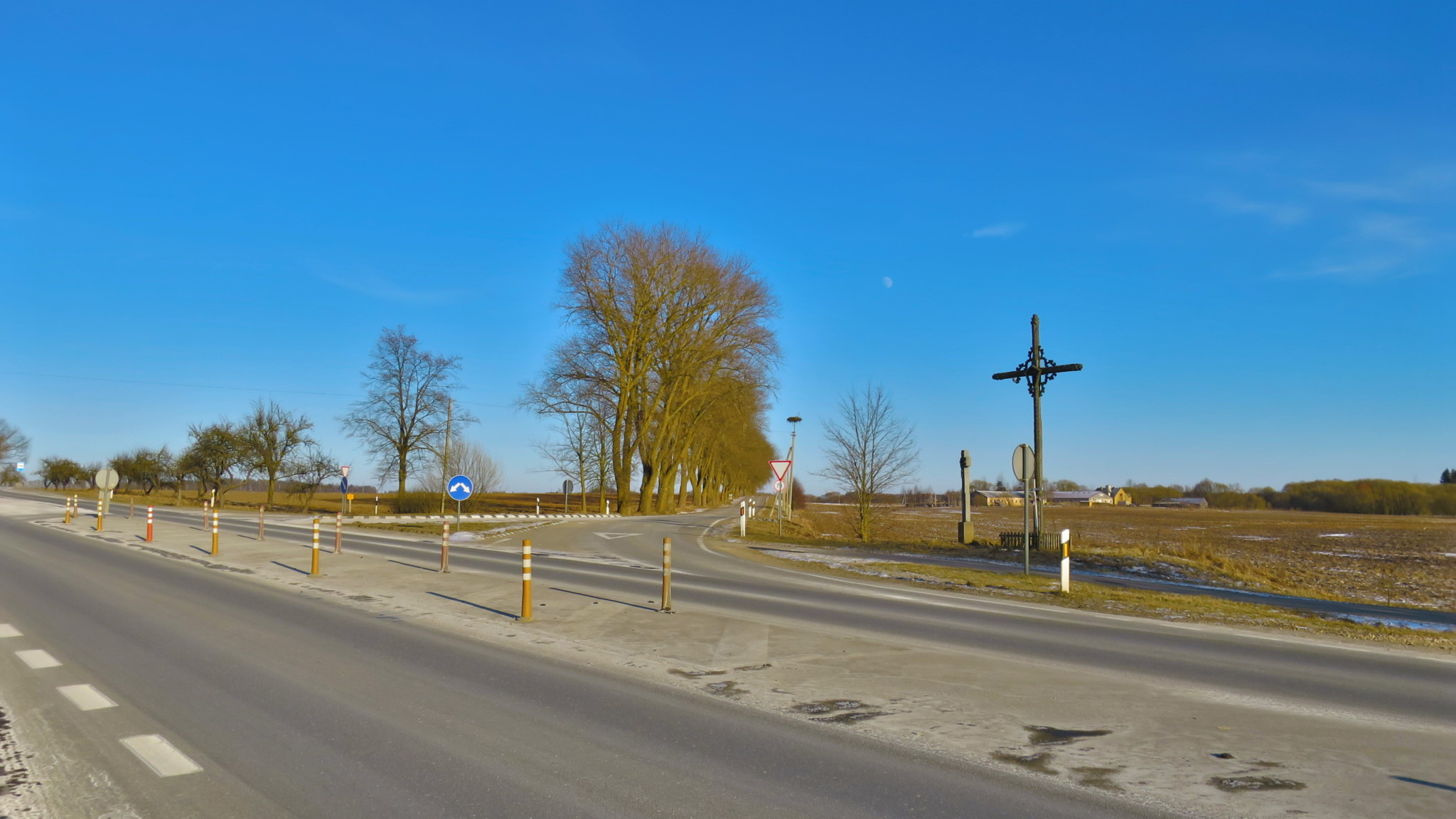 Hill of Crosses location