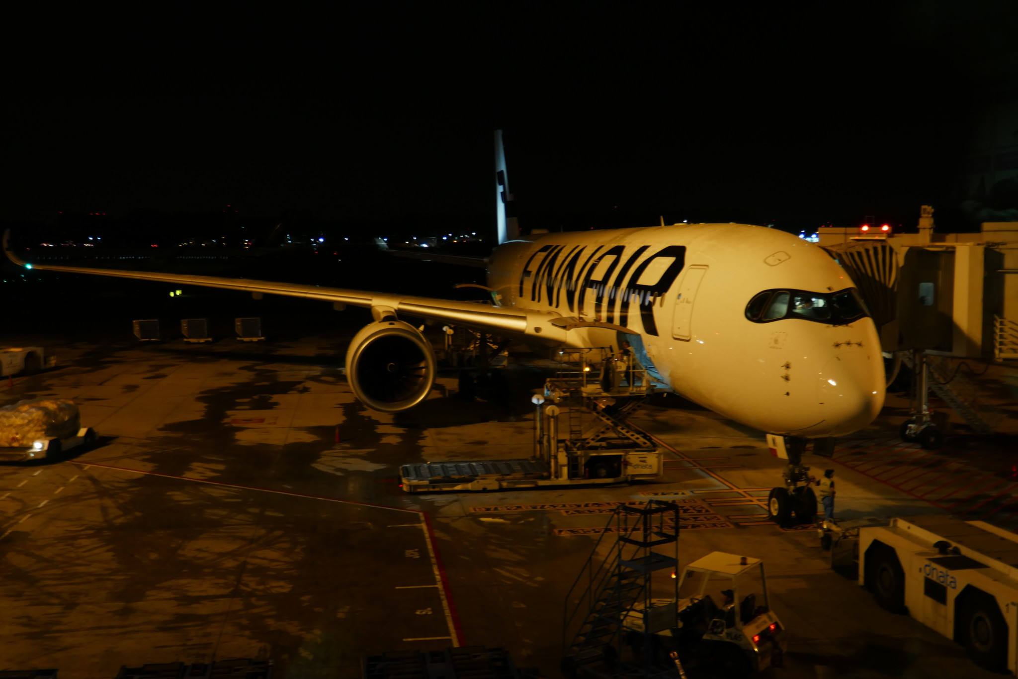Finnair A350 plane