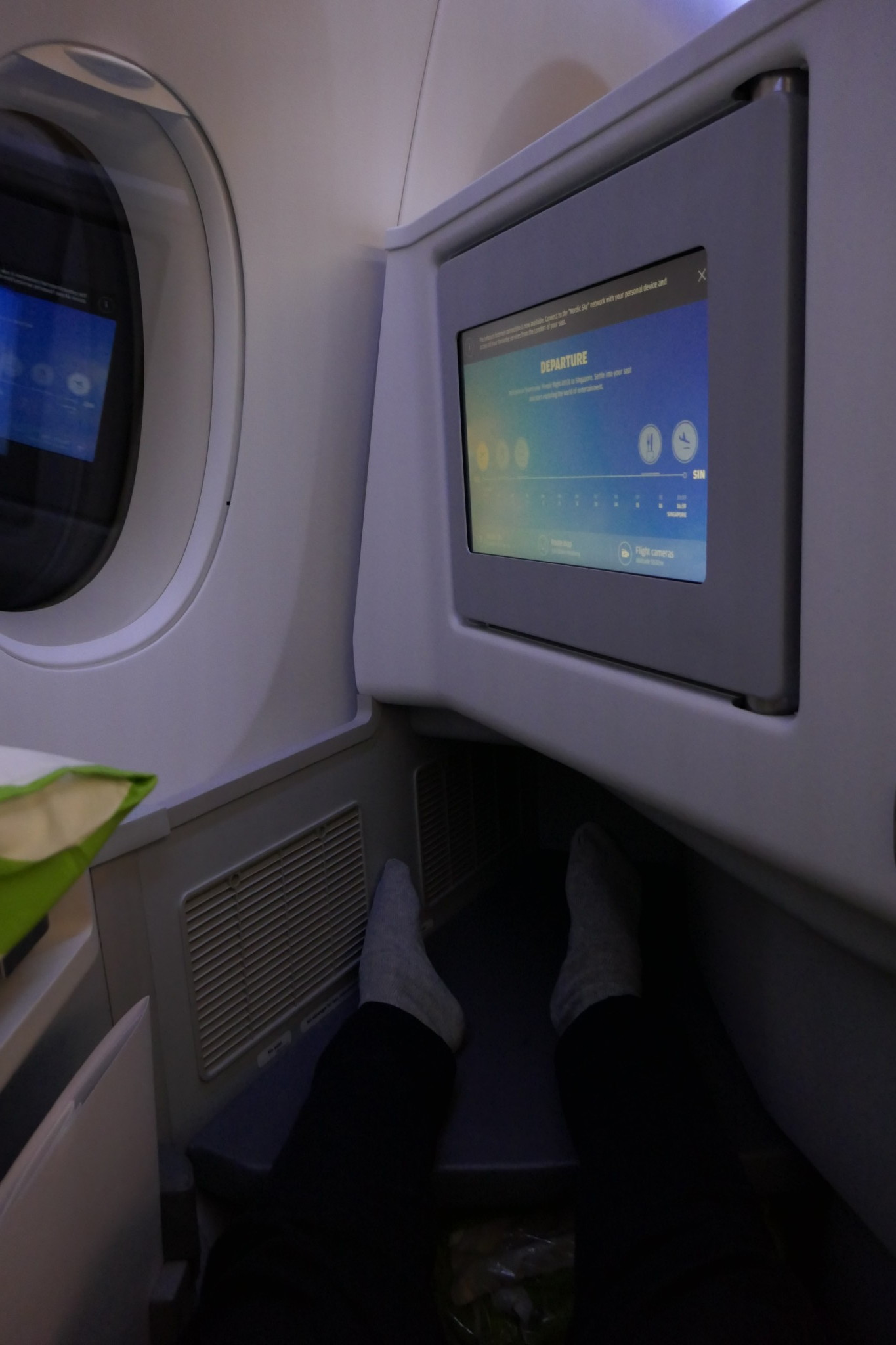 A350 footspace
