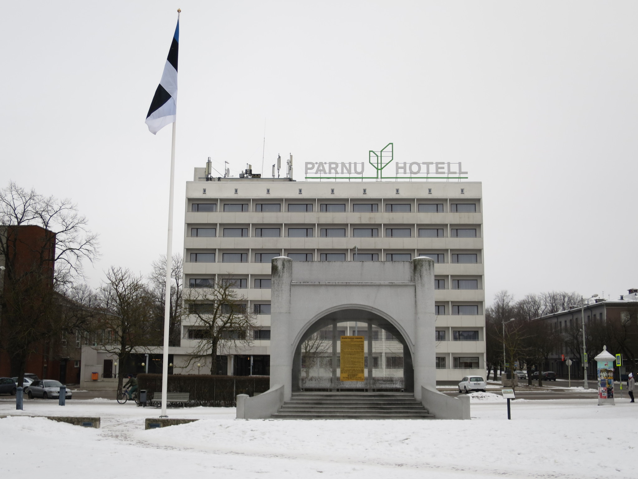 Visiting Pärnu in winter