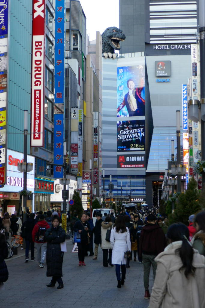 Shinjuku Godzilla
