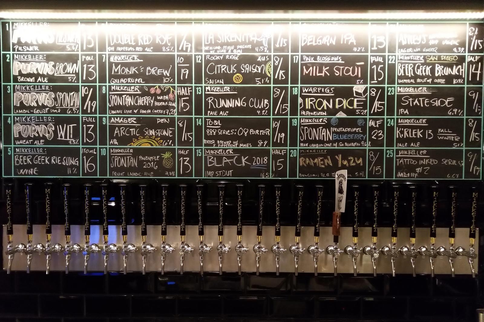 Singapore Craft Beer Bars Mapped and Reviewed