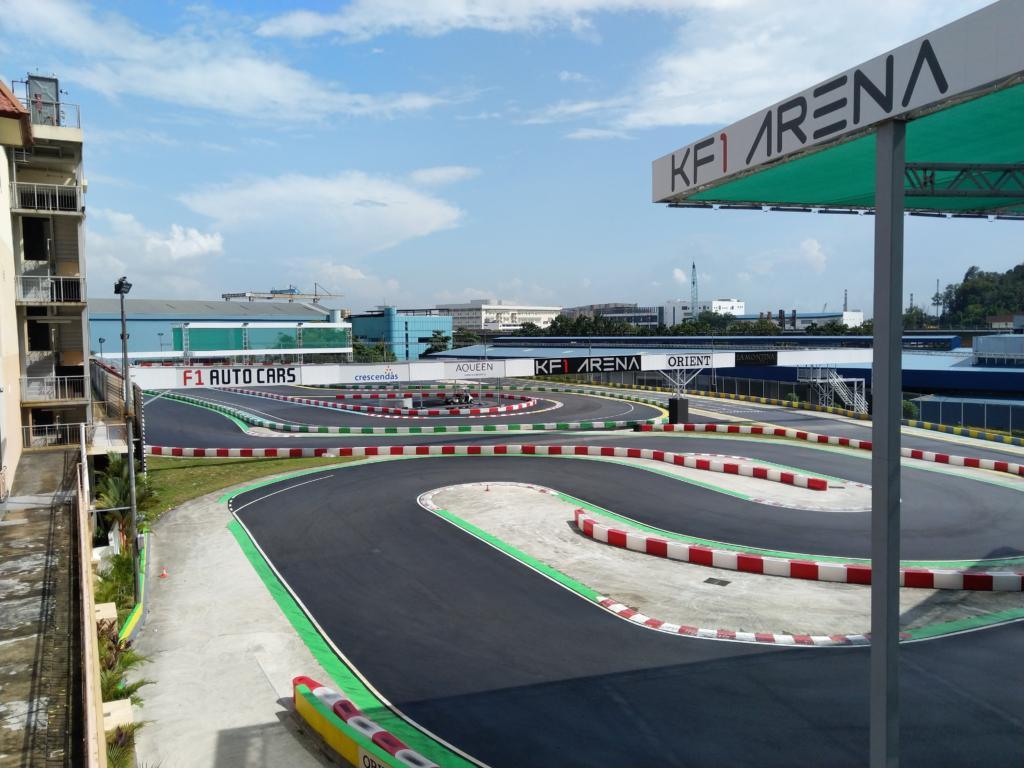KF1 Arena karting track Singapore