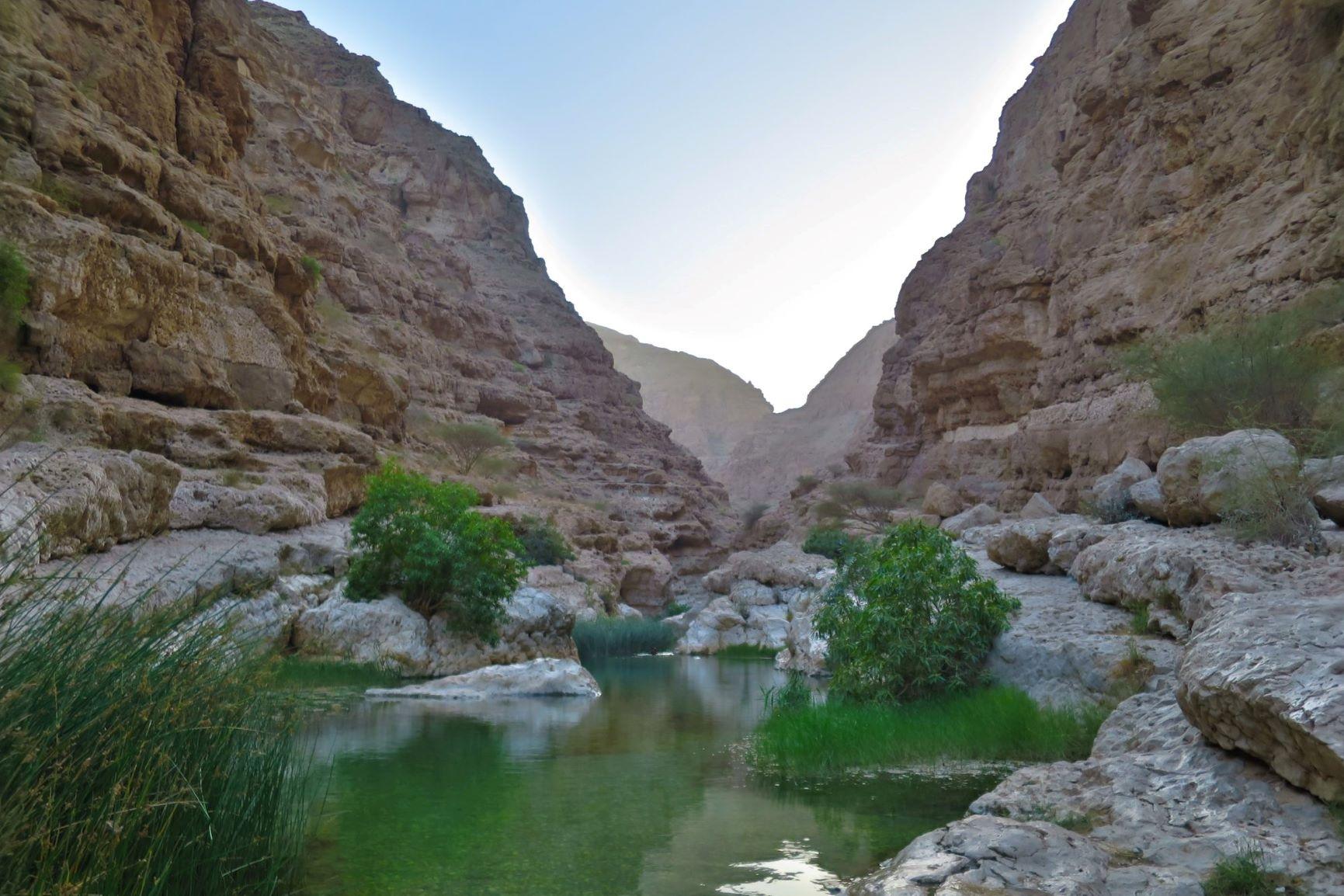 Oman road trip to Wadi Shab