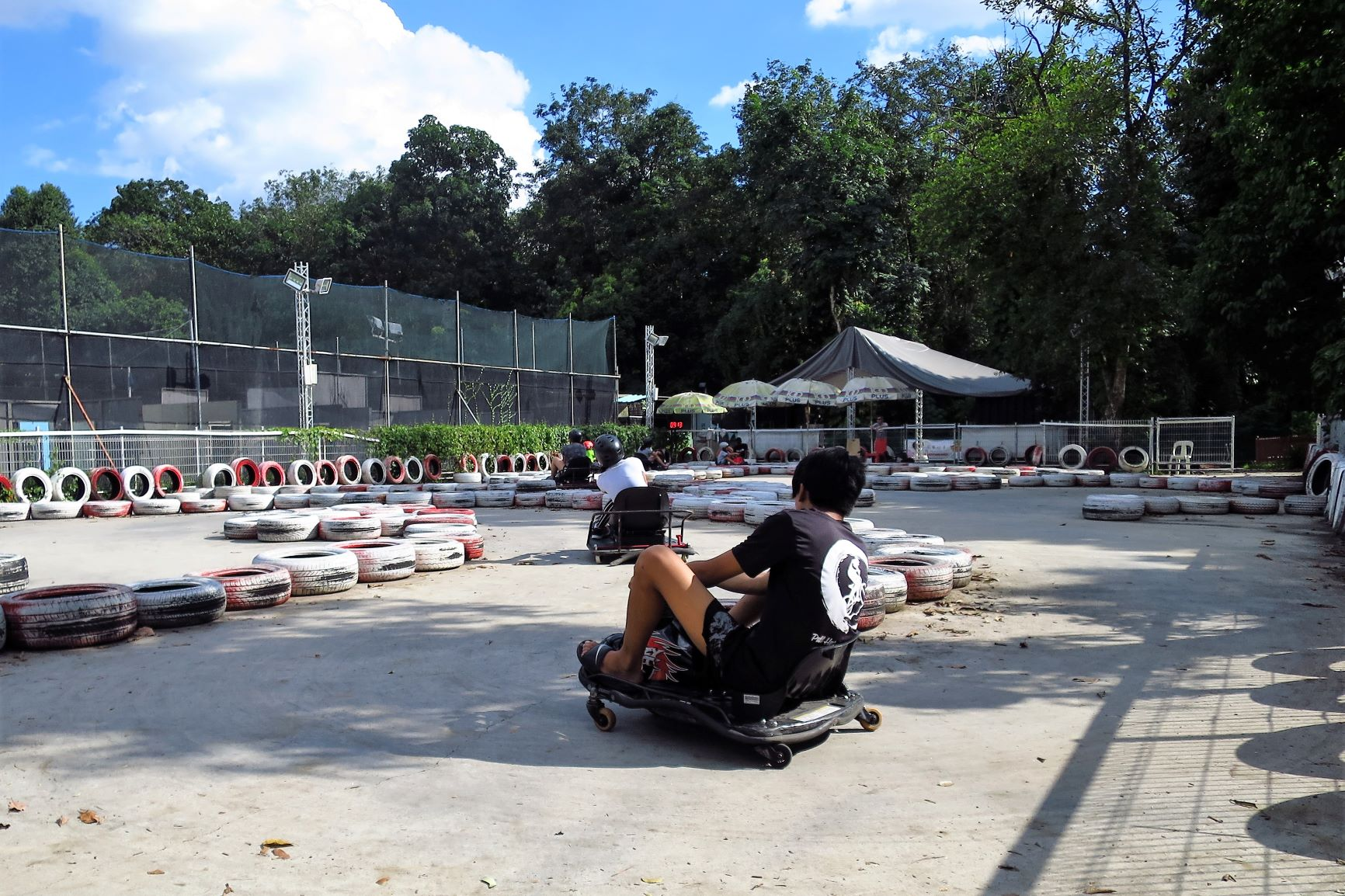 Maximum Drift: Living out Drift Karting Fantasies in Yishun