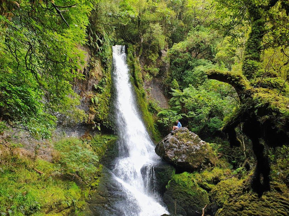 Waipohatu Falls in the Catlins