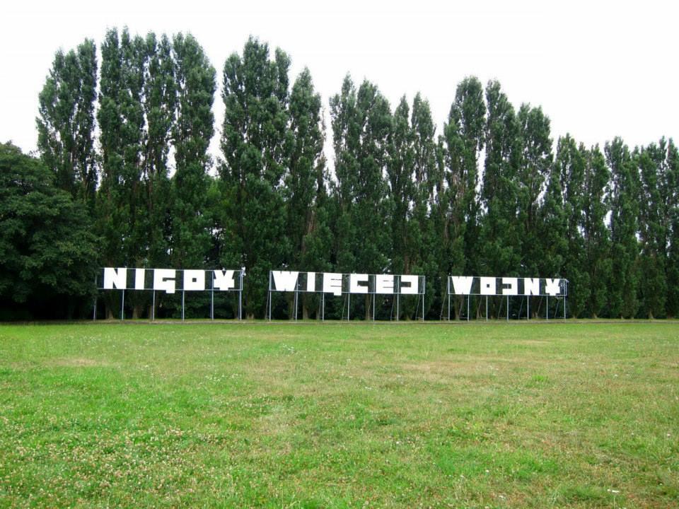 Gdansk memorial park