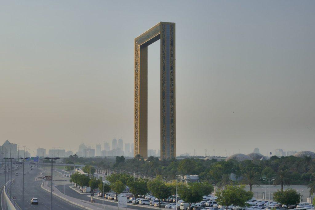 Five hours in Dubai Frame