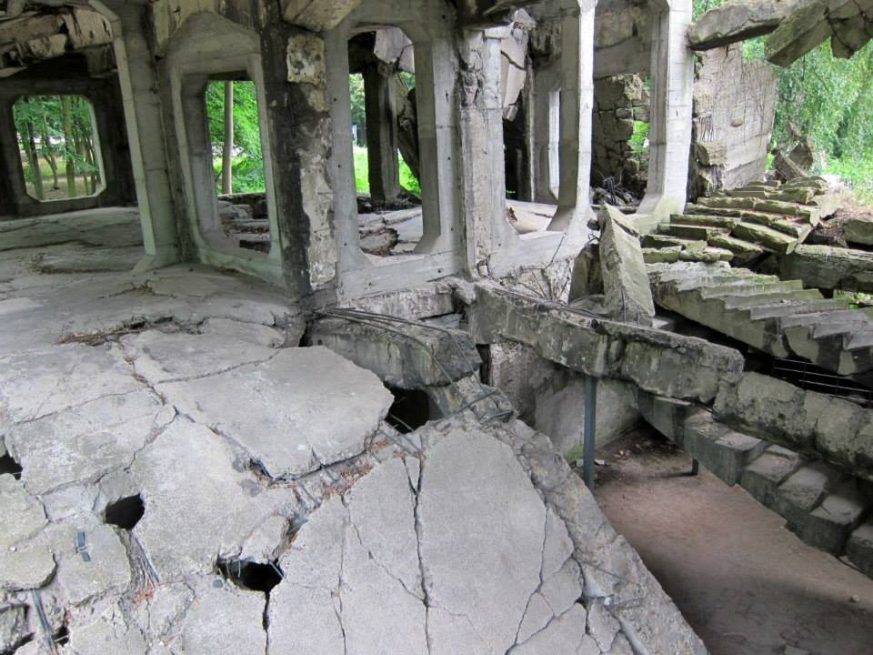 Gdansk bunker ruins